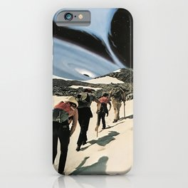 Whirlpool of Space iPhone Case