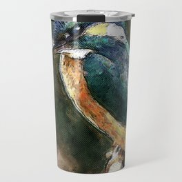 Bird On A Branch  Travel Mug