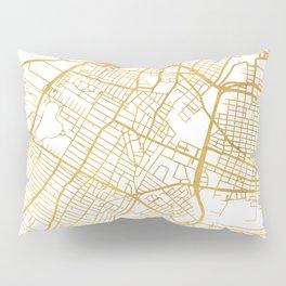 JERSEY CITY NEW JERSEY STREET MAP ART Pillow Sham