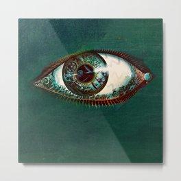 All Seeing Eye, God, Universal Intelligence, Metal Print