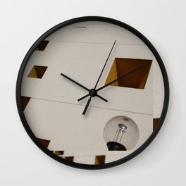 Diagonal Squares and a Sphere Wall Clock