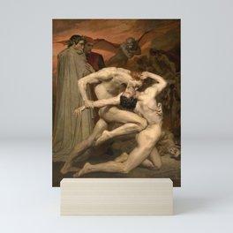 DANTE AND VIRGIL - WILLIAM-ADOLPHE BOUGUEREAU Mini Art Print