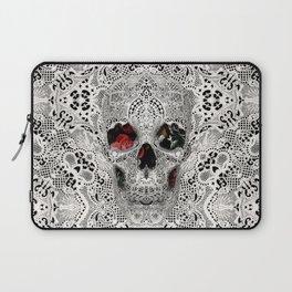 Lace Skull 2 Laptop Sleeve