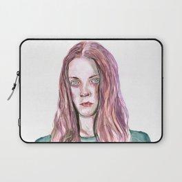 Watercolor Girl Laptop Sleeve