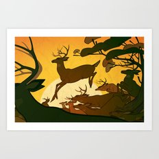 Migration Art Print