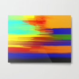 Abstract No 2 By Chad Paschke Metal Print