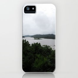 Ecuador River iPhone Case