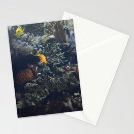 Nemo y sus amigos en un acuario Stationery Cards