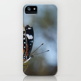 Danaid eggfly. iPhone Case