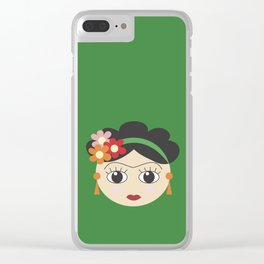 Fridas Clear iPhone Case