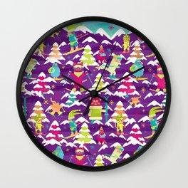 Fresh Meowder Wall Clock