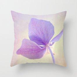 Sweet Hydrangea Throw Pillow