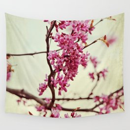 Wedding of Spring Wall Tapestry