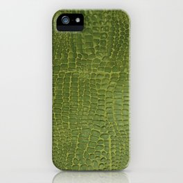 Alligator Skin iPhone Case