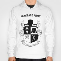 army Hoodies featuring Armitage Army by Circus Doll
