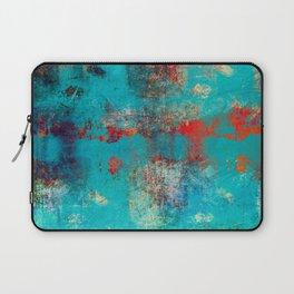 Aztec Turquoise Stone Abstract Texture Design Art Laptop Sleeve