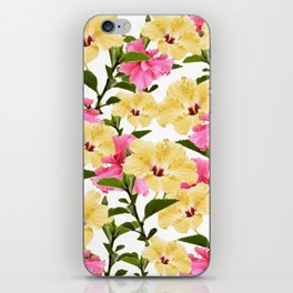 Lush Hibiscus iPhone Skin
