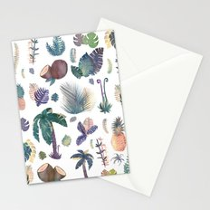 tropical nature pattern!! Stationery Cards