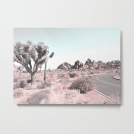 Desert Cacti Metal Print