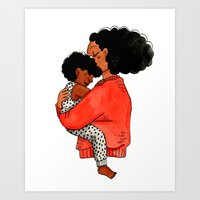 Fro smell Art Print