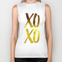 xoxo Biker Tanks featuring XOXO by cat&wolf
