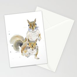 Two Squirrels Stationery Cards