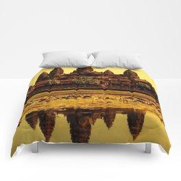 Ankor Wat Comforters