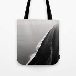 Black Sand Beach, Iceland Tote Bag