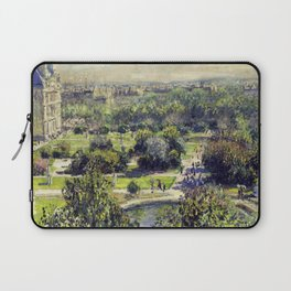 The Tuileries by Claude Monet Laptop Sleeve