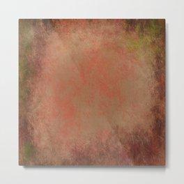 Colors of Red Gum Bark Metal Print