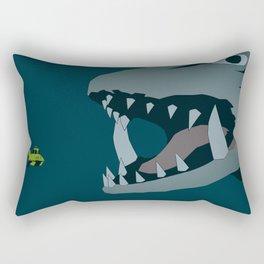 Gamera vs. Jiger Rectangular Pillow