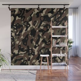 Camouflage Abstract Wall Mural