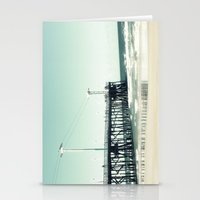 boardwalk empire Stationery Cards featuring Boardwalk by Sweet Moments Captured