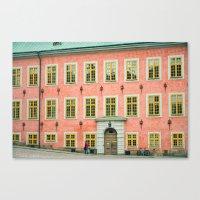 swedish Canvas Prints featuring Swedish by Gaby Arauz