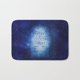 That's who I am | Doctor Who Bath Mat