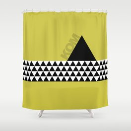 KOM - King of the Mountain Shower Curtain