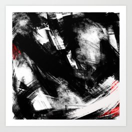 Brooklyn has fallen | Abstract Painting Art Print