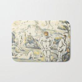 Paul Cezanne - The Bathers, 1896 Bath Mat