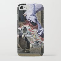skate iPhone & iPod Cases featuring skate by ollily