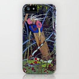 """Baba Yaga"" the Witch by Ivan Bilibin iPhone Case"