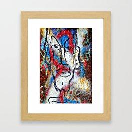 Cleft Chin Framed Art Print