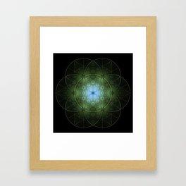 Seed Inversion 2 Framed Art Print