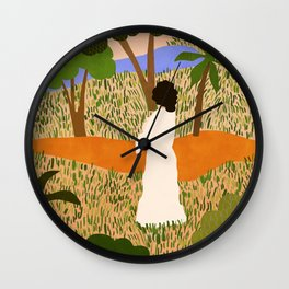 The Unknown Path Wall Clock