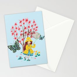 Butterfly Catcher Stationery Cards