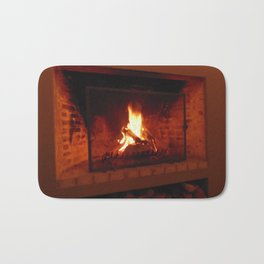 Fireplace . Bath Mat