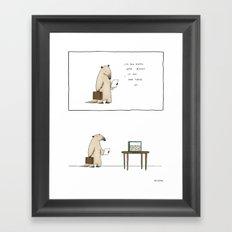 Mmm, ants.  Framed Art Print