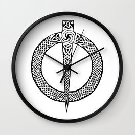 Celtic Pin Wall Clock