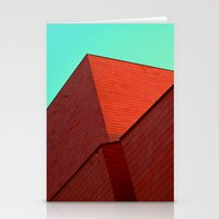 the office Stationery Cards featuring BOX OFFICE by DANIEL COULMANN
