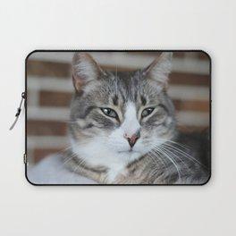 Sleepy Kitten Laptop Sleeve