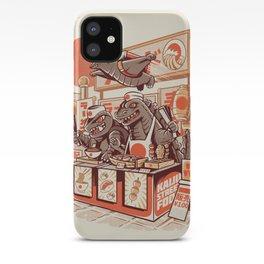 Kaiju street food iPhone Case